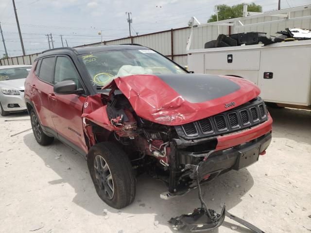 Salvage cars for sale from Copart Haslet, TX: 2019 Jeep Compass TR