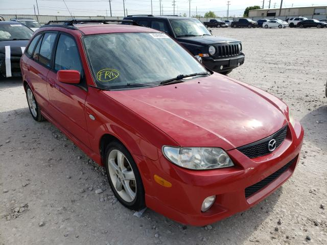 Salvage cars for sale from Copart Haslet, TX: 2003 Mazda Protege PR