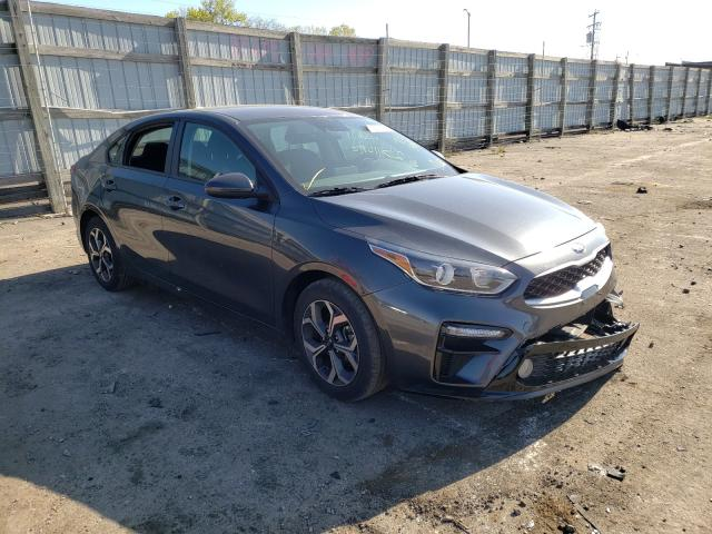 Salvage cars for sale from Copart Milwaukee, WI: 2019 KIA Forte FE