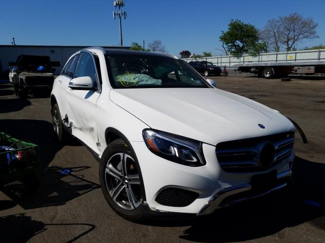 Salvage cars for sale from Copart Brookhaven, NY: 2017 Mercedes-Benz GLC 300 4M