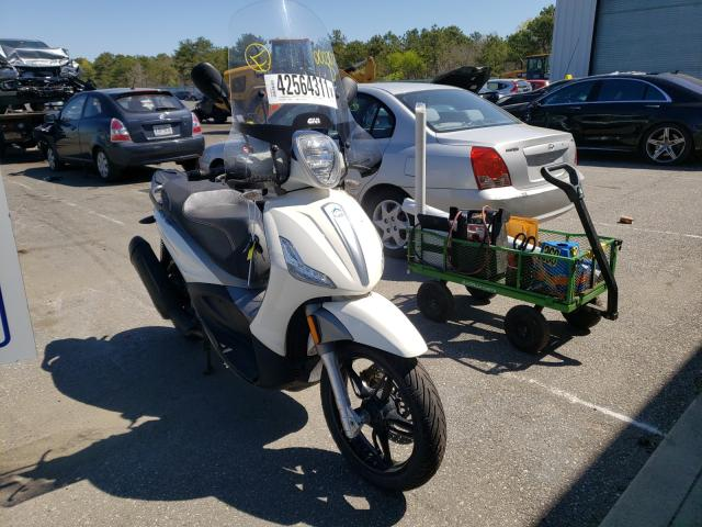 Salvage cars for sale from Copart Brookhaven, NY: 2018 Piaggio Scooter