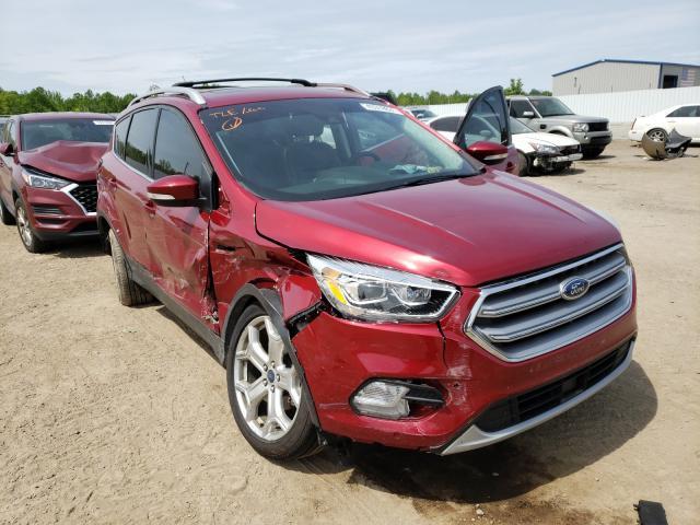 Ford Vehiculos salvage en venta: 2017 Ford Escape Titanium