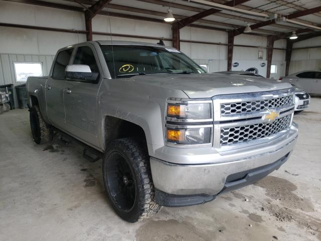 Salvage cars for sale from Copart Haslet, TX: 2015 Chevrolet Silverado