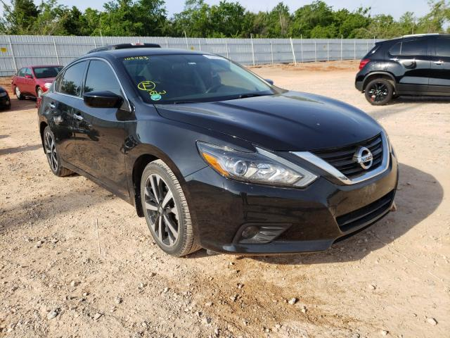 Salvage cars for sale from Copart Oklahoma City, OK: 2018 Nissan Altima 2.5