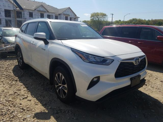 Salvage cars for sale from Copart Madison, WI: 2020 Toyota Highlander