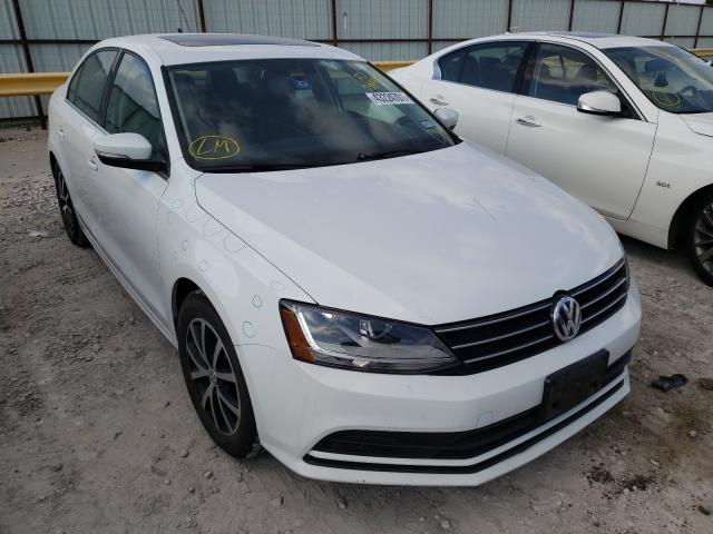 Salvage cars for sale from Copart Haslet, TX: 2017 Volkswagen Jetta SE