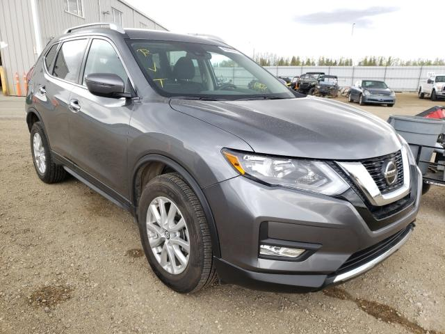 Salvage cars for sale from Copart Nisku, AB: 2020 Nissan Rogue S