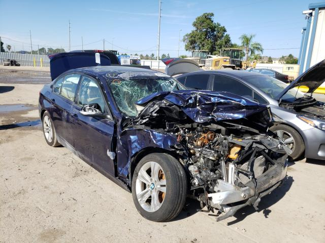 Salvage cars for sale from Copart Riverview, FL: 2016 BMW 328 I Sulev