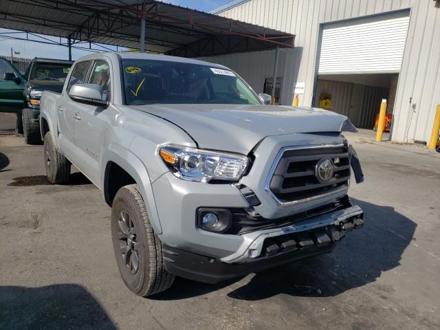 Salvage cars for sale from Copart Orlando, FL: 2021 Toyota Tacoma DOU