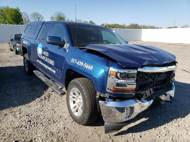 Salvage cars for sale from Copart Lansing, MI: 2017 Chevrolet Silverado