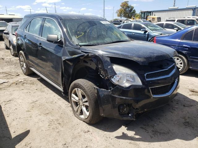 Salvage cars for sale from Copart Riverview, FL: 2015 Chevrolet Equinox LS