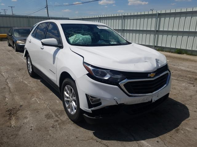 Salvage cars for sale from Copart Dyer, IN: 2019 Chevrolet Equinox LT