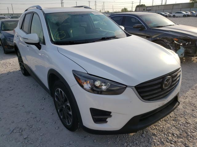 Salvage cars for sale from Copart Haslet, TX: 2016 Mazda CX-5 GT