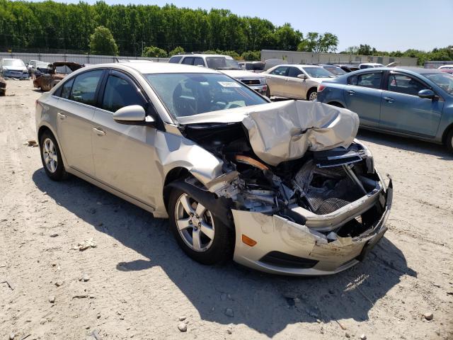 Salvage cars for sale from Copart Hampton, VA: 2014 Chevrolet Cruze LT