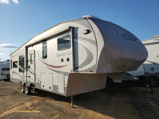 Heartland Travel Trailer salvage cars for sale: 2011 Heartland Travel Trailer
