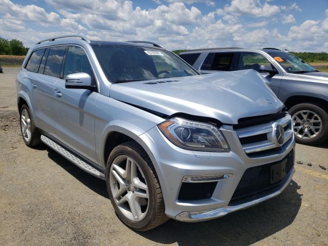 Mercedes-Benz salvage cars for sale: 2014 Mercedes-Benz GL 550 4matic
