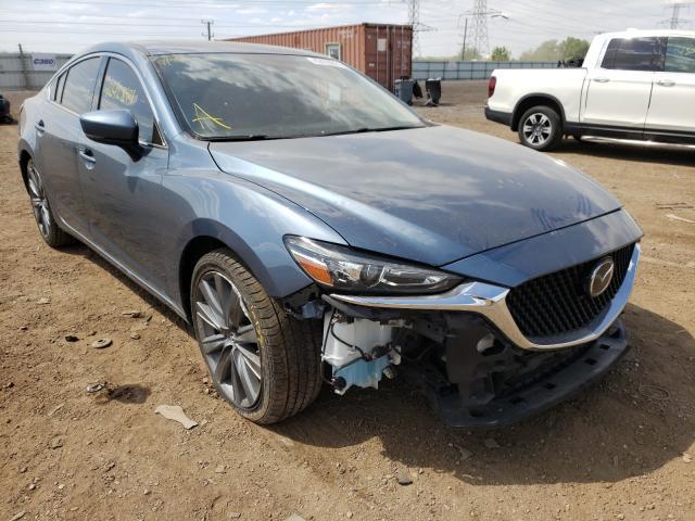Mazda 6 salvage cars for sale: 2018 Mazda 6