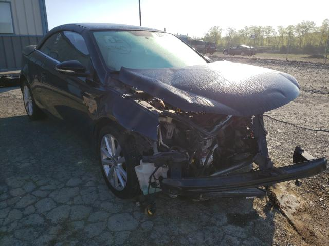 Salvage cars for sale from Copart Chambersburg, PA: 2014 Volkswagen EOS Komfor