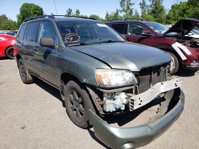 Vehiculos salvage en venta de Copart Portland, OR: 2004 Toyota Highlander