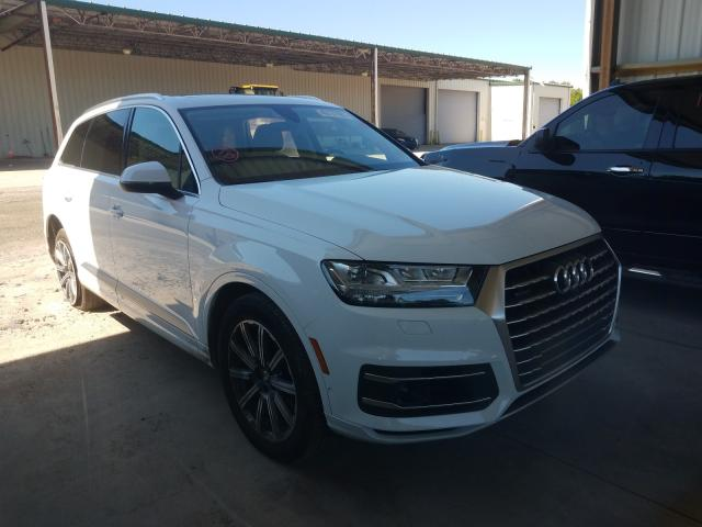 Salvage cars for sale at Gaston, SC auction: 2019 Audi Q7 Premium