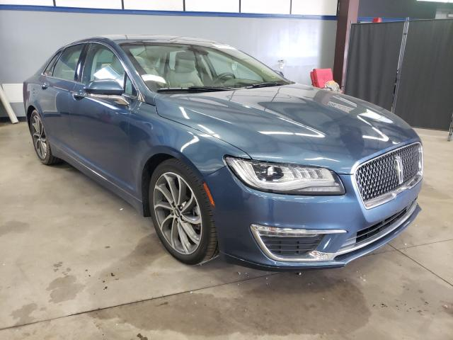 Salvage cars for sale from Copart East Granby, CT: 2019 Lincoln MKZ Reserv
