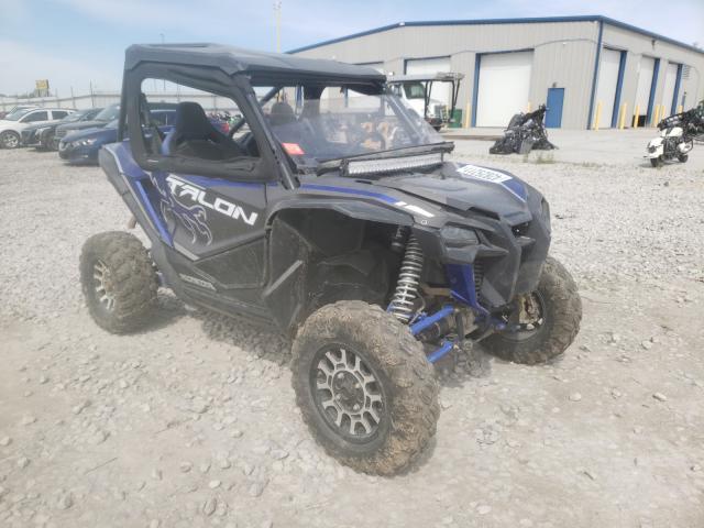 Salvage cars for sale from Copart Alorton, IL: 2020 Honda SXS1000 S2