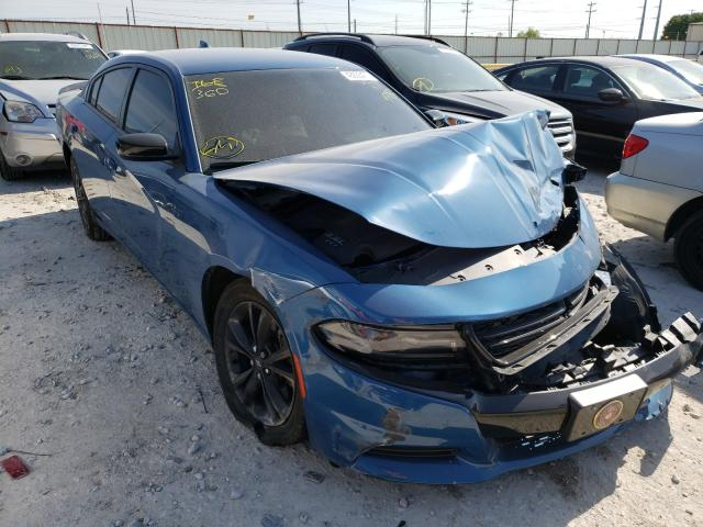 Salvage cars for sale from Copart Haslet, TX: 2020 Dodge Charger SX