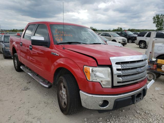 Salvage 2012 FORD F-150 - Small image. Lot 43435821