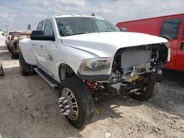 Salvage cars for sale from Copart Houston, TX: 2017 Dodge RAM 3500 ST