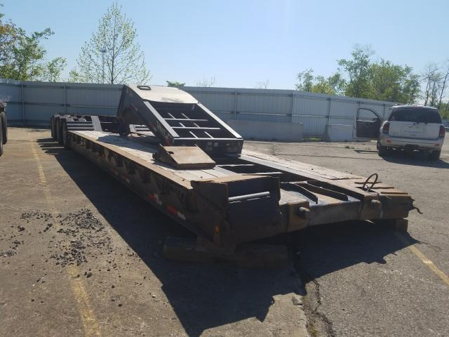 Salvage cars for sale from Copart West Mifflin, PA: 2009 Talbert Trailer