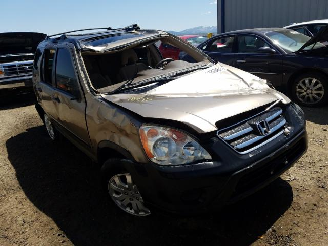Salvage cars for sale from Copart Helena, MT: 2006 Honda CR-V EX