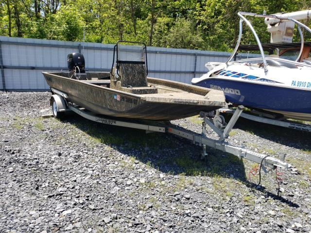 Alumacraft salvage cars for sale: 2018 Alumacraft Boat