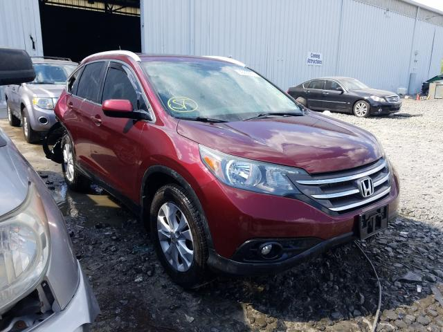 Salvage cars for sale from Copart Windsor, NJ: 2014 Honda CR-V EXL