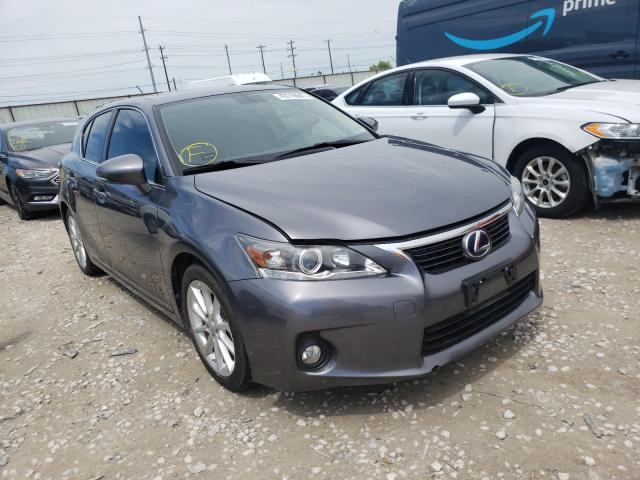 Salvage cars for sale from Copart Haslet, TX: 2012 Lexus CT 200