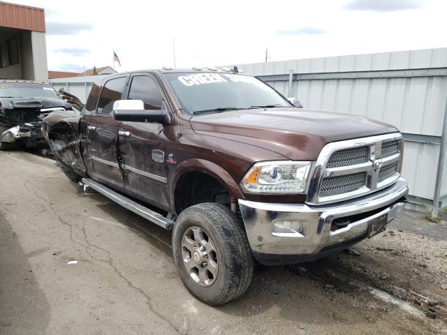 Salvage cars for sale from Copart Fort Wayne, IN: 2015 Dodge RAM 3500 Longh