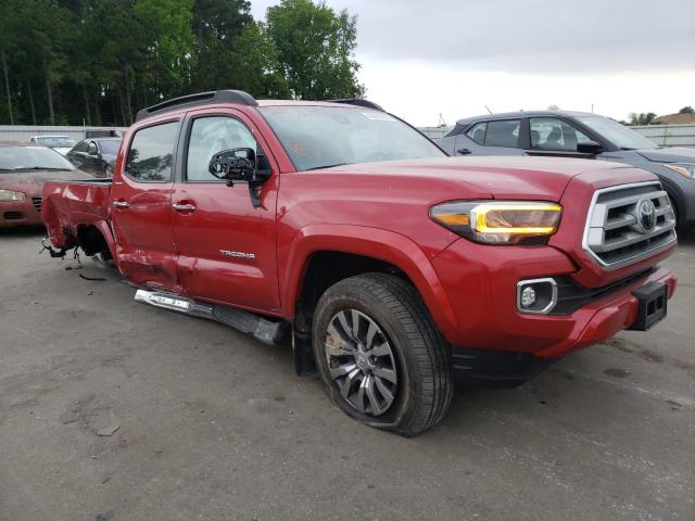 Vehiculos salvage en venta de Copart Dunn, NC: 2020 Toyota Tacoma DOU