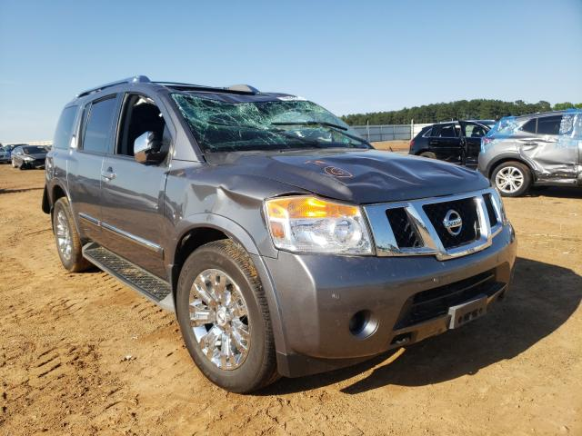 Salvage cars for sale from Copart Longview, TX: 2015 Nissan Armada SV