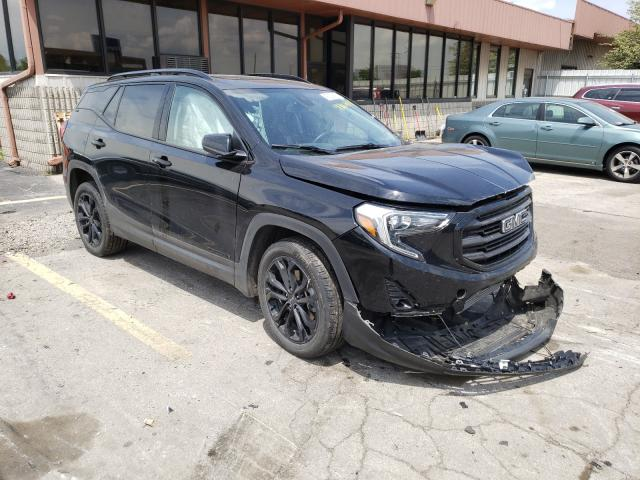 Salvage cars for sale from Copart Fort Wayne, IN: 2020 GMC Terrain SL