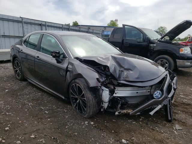 Salvage cars for sale from Copart Finksburg, MD: 2020 Toyota Camry SE