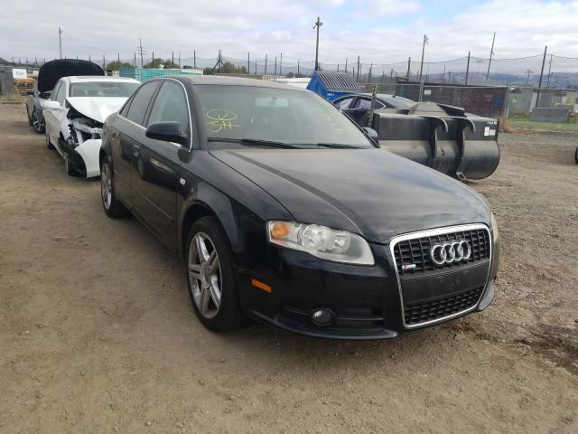Salvage cars for sale from Copart San Martin, CA: 2008 Audi A4 2.0T