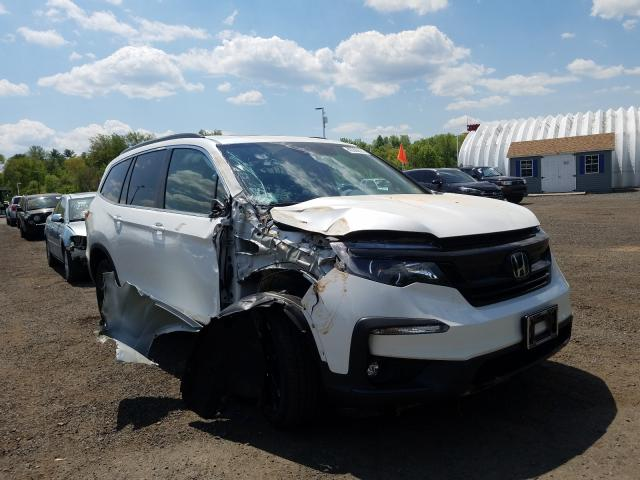 Salvage cars for sale from Copart East Granby, CT: 2021 Honda Pilot SE