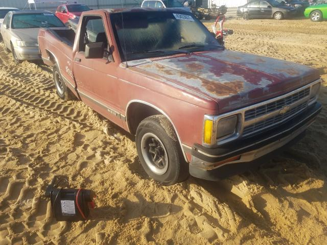 Salvage cars for sale at Gaston, SC auction: 1992 Chevrolet S10