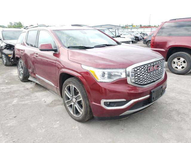 GMC salvage cars for sale: 2018 GMC Acadia DEN