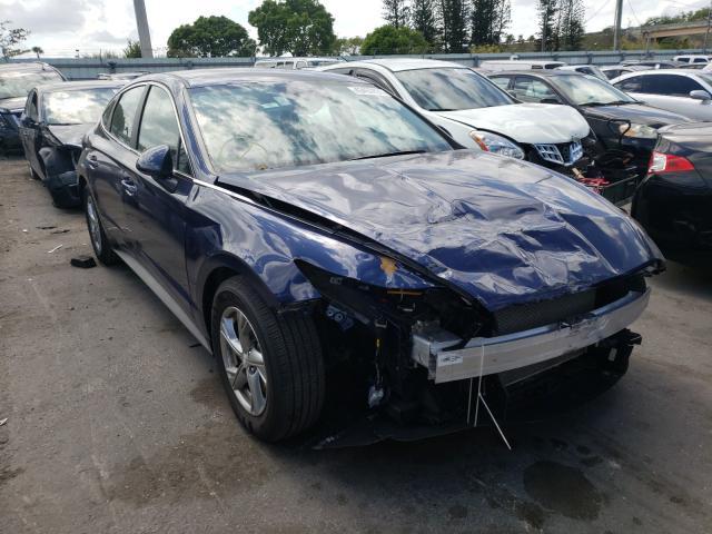 Salvage cars for sale from Copart Miami, FL: 2021 Hyundai Sonata SE
