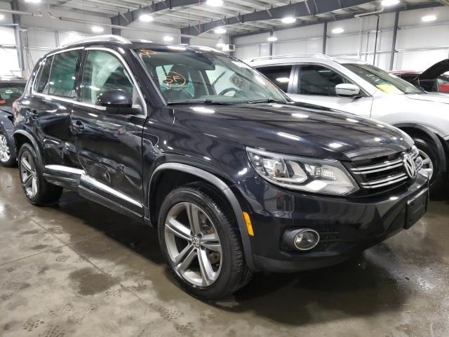 Volkswagen salvage cars for sale: 2017 Volkswagen Tiguan Sport