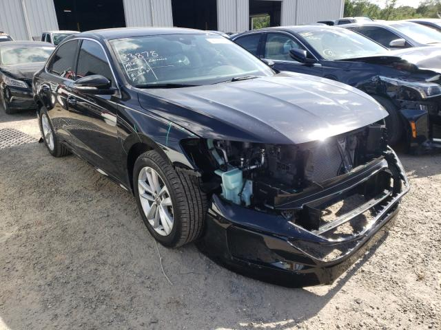 Salvage cars for sale from Copart Jacksonville, FL: 2020 Volkswagen Passat SE