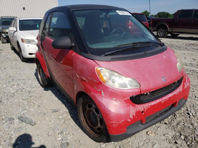 Smart salvage cars for sale: 2009 Smart Fortwo PUR