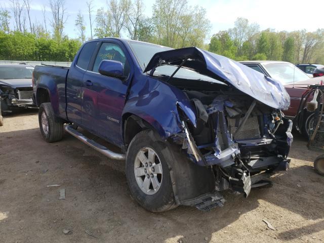 Salvage cars for sale from Copart Davison, MI: 2016 Chevrolet Colorado