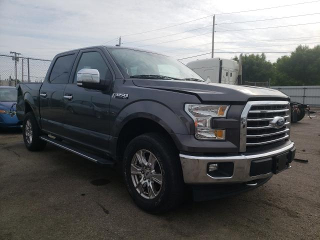 Salvage cars for sale from Copart Moraine, OH: 2017 Ford F150 Super
