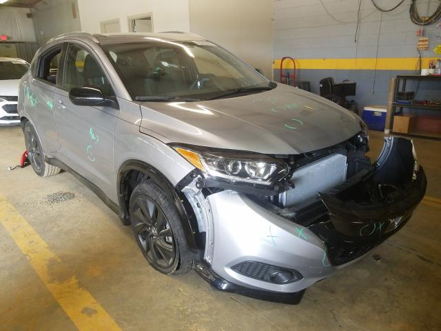 Salvage cars for sale from Copart Mocksville, NC: 2021 Honda HR-V Sport